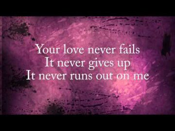 One Thing Remains - Jesus Culture (lyric video)